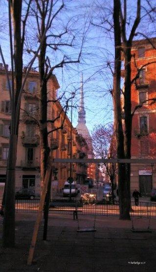 Torino, Largo Montebello, Vista Mole