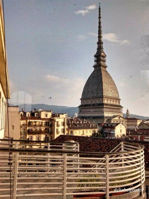Torino - Mole Antonelliana da finestra Scuola Avogadro