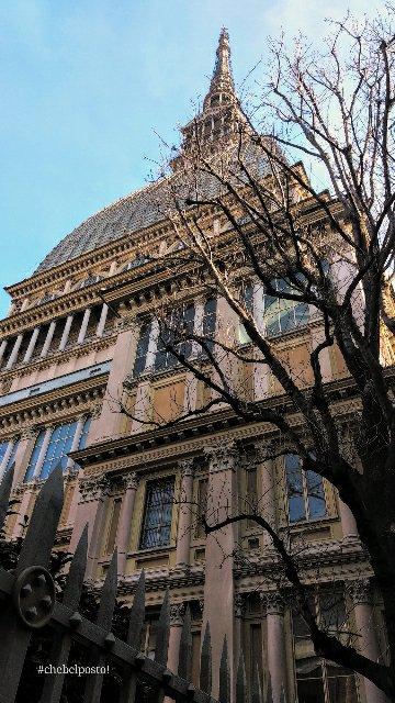 Torino - Mole Antonelliana da Via Riberi