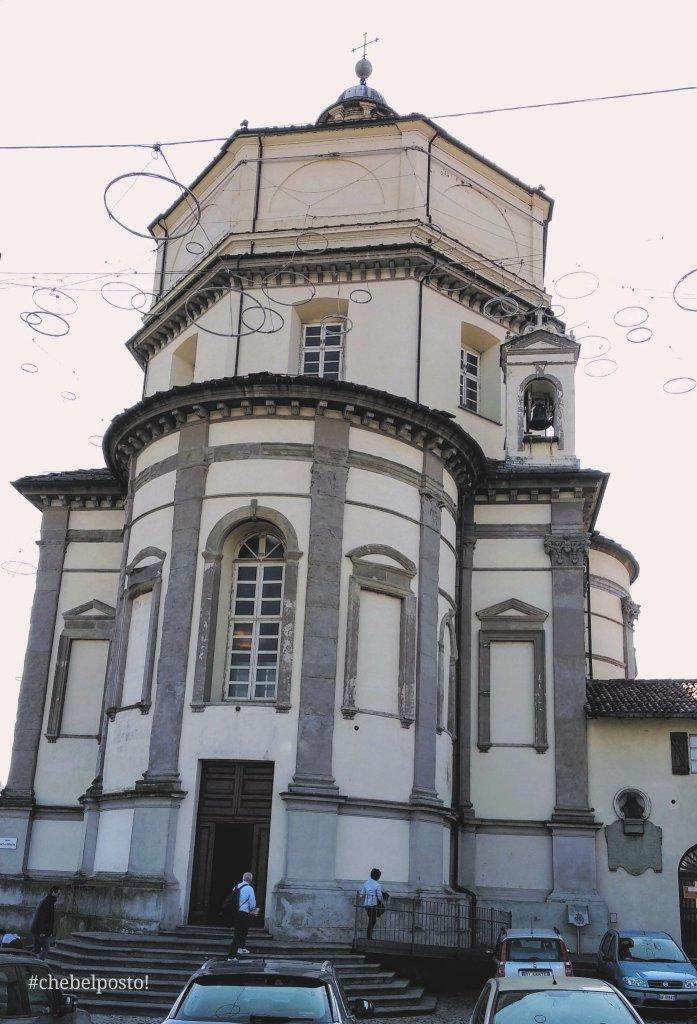 Torino - Facciata della chiesa Santa Maria del Monte - Monte dei Cappuccini